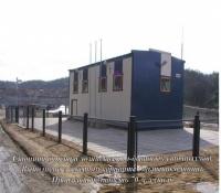 Станция очистки хозяйственно-бытовых сточных вод, производительностью 70м.куб./сут. Северный вариант