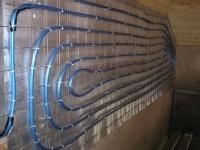 Возможные варианты укладки тепловой трубы