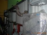 Установка УФ-обеззараживания, смонтированная на БМ-5К